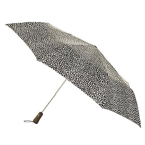 Totes 70mph Windproof Titan Auto Open Umbrella with NeverWet