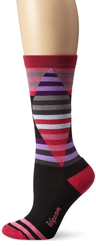 Wigwam Women's Cirque Wool-Free Casual Crew Boot Sock