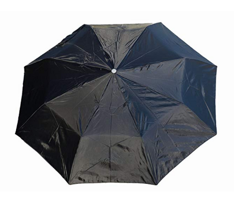 Totes Men/'s Black with Wood Handle Auto Open Umbrella 42 Arc