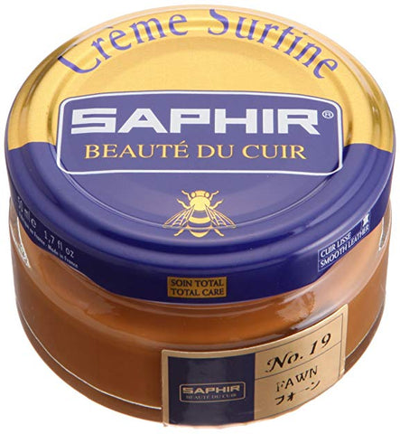 Saphir Creme Surfine - Jar - 50 Ml - Made in France