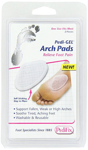PediFix Pedi-gel Arch Pads, 2-Count