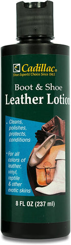 Cadillac Boot and Shoe Leather Conditioner and Cleaner Lotion 8 oz