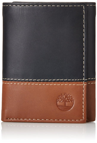 Timberland Men's Hunter Colorblocked Trifold Wallet