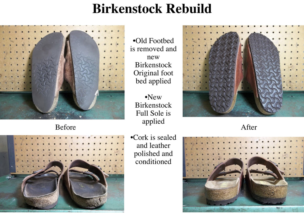 Men S Birkenstock Repair Model Shoe Renew