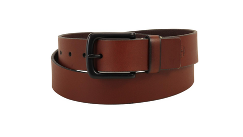 Timberland Men's B75477 Pull Up Genuine Leather Belt