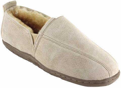 Ciabatta Roma Men's Sheepskin Slippers