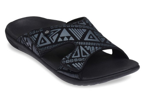 Spenco Women's Kholo Tribal Slide Sandal