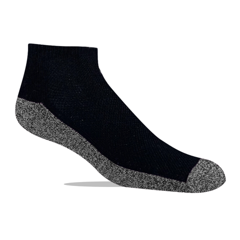 Jox Sox Men's Cushioned Low Cut Socks