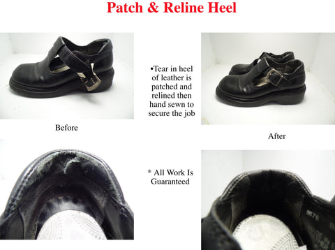 Patch and Reline Heel