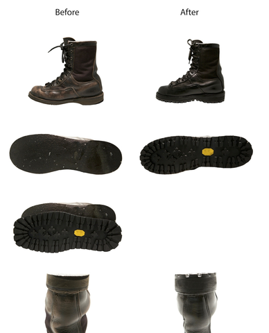 The Army Boot Job