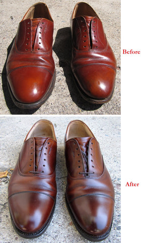 Men's Shoes Shine