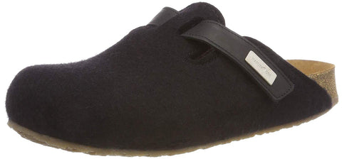 2e384a5e8332 Haflinger Women s Kurt Bio Gio Wool Clog Slippers – Model Shoe Renew