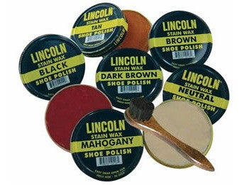 Lincoln Shoe Wax Polish 3 Fl Oz