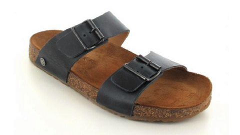 Haflinger Men's Andrea Schwarz Sandals