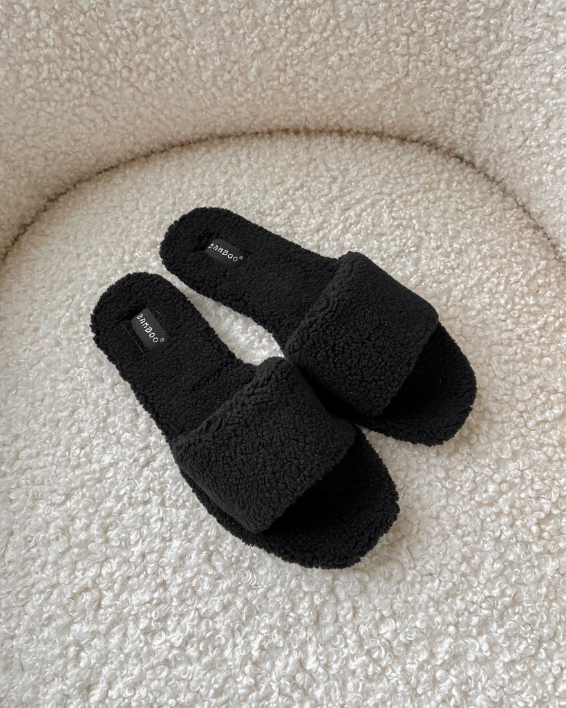Stay Cozy Teddy Slides