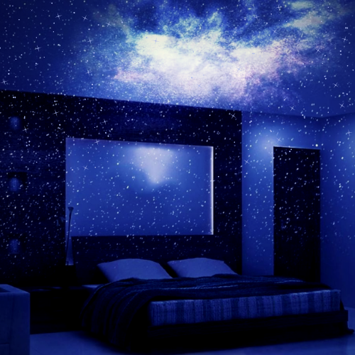 GALAXY COLLECTION PLUS: Proiettore Galaxy + Moon Light + Strisce LED