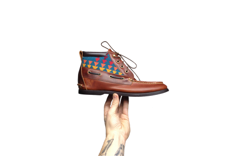 Hightop Boat Shoes – With Pendleton Wool