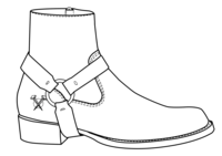 808 Mid-Rise Roper Boot (2017)
