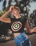 Bullseye Crop Top