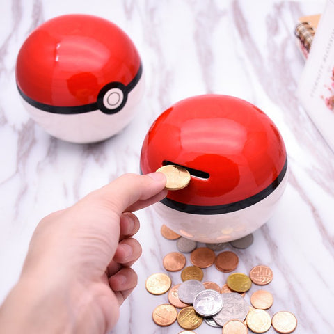 Pokeball Piggy Bank