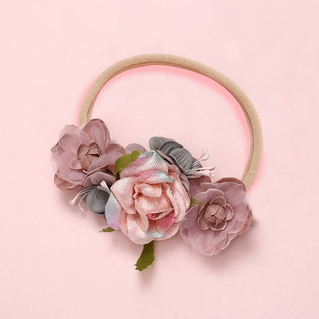 Fashion Floral Headband Newborn Baby - Just Kiddin' Outlet