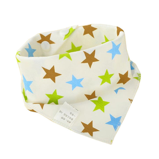 Super Absorbent Baby Triangle Bib Super Absorbent - Just Kiddin' Outlet
