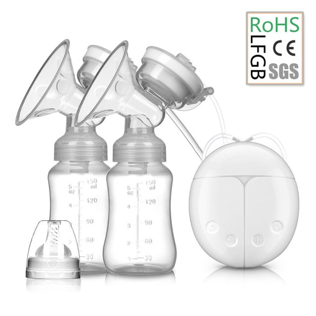 Electric breast pump unilateral and bilateral breast pump - Just Kiddin' Outlet