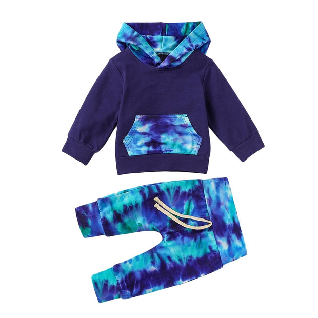 2pcs Hooded Outfit - Just Kiddin' Outlet