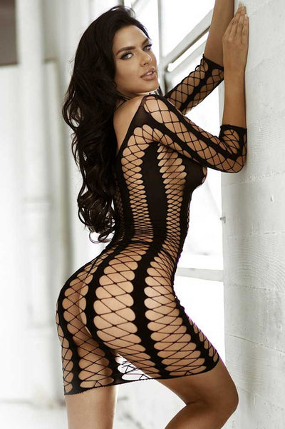 Seductive Fishnet Bodystocking | Sexy Fishnet Body Stocking  | Coy Fox Boutique