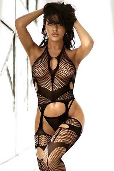 Burning Desire Fishnet Bodystocking | Black Fishnet Body Stocking | Coy Fox