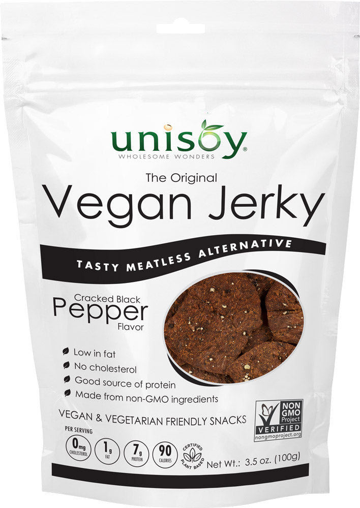 Black Pepper Vegan Jerky