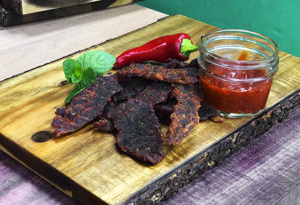 2 oz Bacon Jerky - Siracha