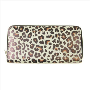 Zipper Wallet Leopard