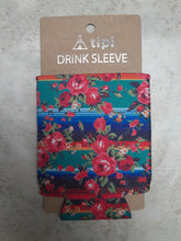 Load image into Gallery viewer, Tipi Drink Sleeve Floral Serape