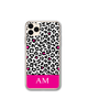 Personalised Leopard Print Phone Case - Nokia