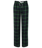 Check Lounge Pants - Green & Black