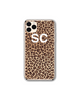 Personalised Leopard Print iPhone Case