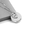 Personalised Cut Out Heart Necklace