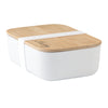 Personalised Bamboo Lunch Box