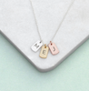 Personalised Mini Tag Necklace