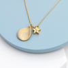 Personalised Star and Petal Necklace