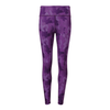 Purple Camo Patterned Leggings