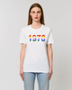 Personalised Organic Bold Rainbow Year T'Shirt - Crew Neck