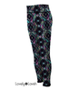 Reversible Patterned Leggings For Women - Aztec