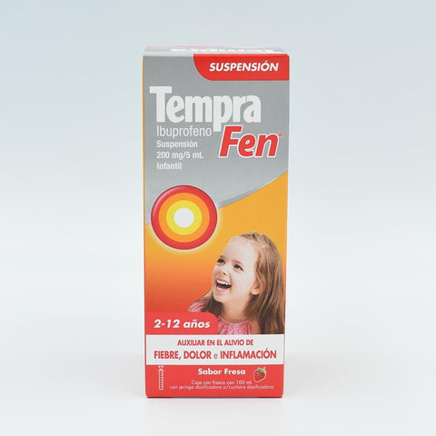 TEMPRA FEN 200MG/5ML SUPENSION INFANTIL (IBUPROFENO)