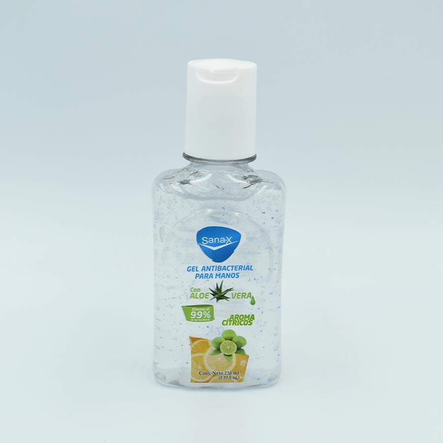 GEL ANTIBACTERIAL SANAX  BOTELLA CON 230ML