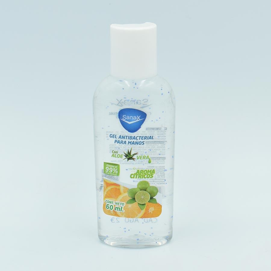 GEL ANTIBACTERIAL SANAX BOTELLA CON 60ML