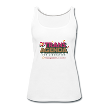 Load image into Gallery viewer, Trans Agenda Tank Top - white