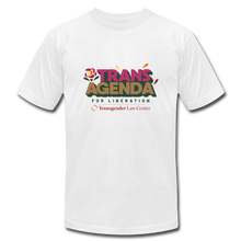 Load image into Gallery viewer, Trans Agenda T-Shirt - white