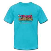 Load image into Gallery viewer, Trans Agenda T-Shirt - turquoise
